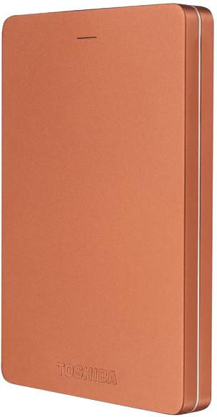 Toshiba Canvio Alu 3S - 500GB, červená