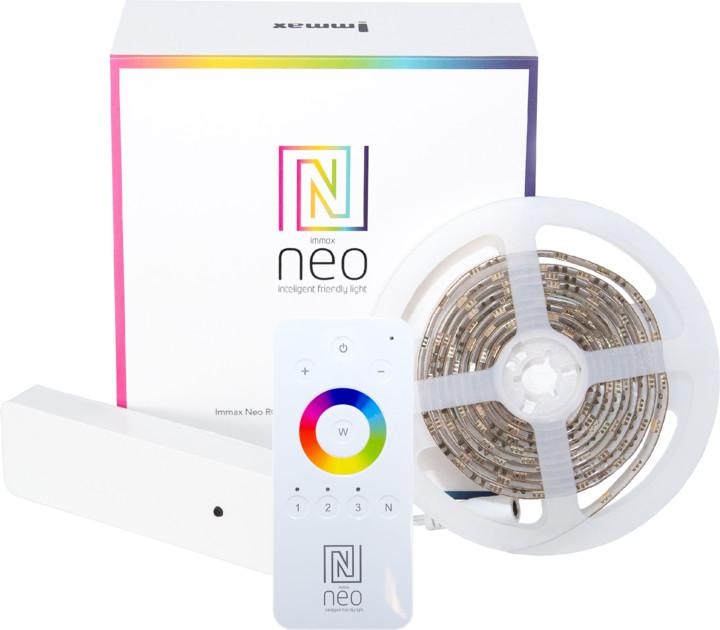 IMMAX Neo RGB+CCT LED pásek 2m s kontrolerem + ovladač Zigbee