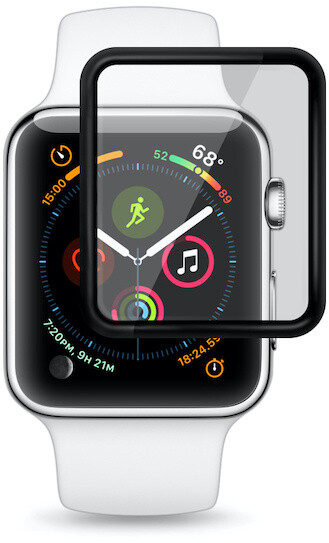 EPICO ochranné sklo pro Apple Watch 4/5/6/SE, 3D+, 40mm