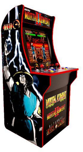 Arcade1Up Mortal Kombat II (Mortal Kombat, Mortal Kombat 2, Ultimate Mortal Kombat 3)