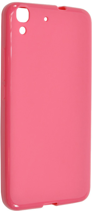 FIXED pouzdro pro Huawei Y6, růžová