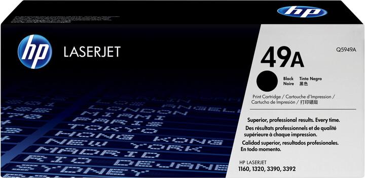 HP Q5949A, černý
