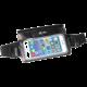 """CELLY Splash Belt sportovní voděodolné pouzdro okolo pasu pro telefony 5,7 """", černé"""
