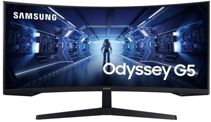 """Samsung Odyssey G5 - LED monitor 34"""""""