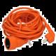 Solight prodlužovací kabel - spojka, 1 zásuvka, 10m, oranžová  + Solight digitální kuchyňská minutka, hliník, černá barva (v ceně 129,-)