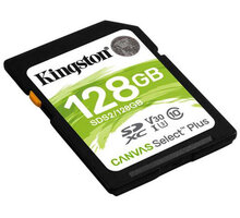 Kingston SDXC Canvas Select Plus 128GB 100MB/s UHS-I - SDS2/128GB