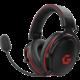 CZC.Gaming Hellhound, herní sluchátka, černá/červená