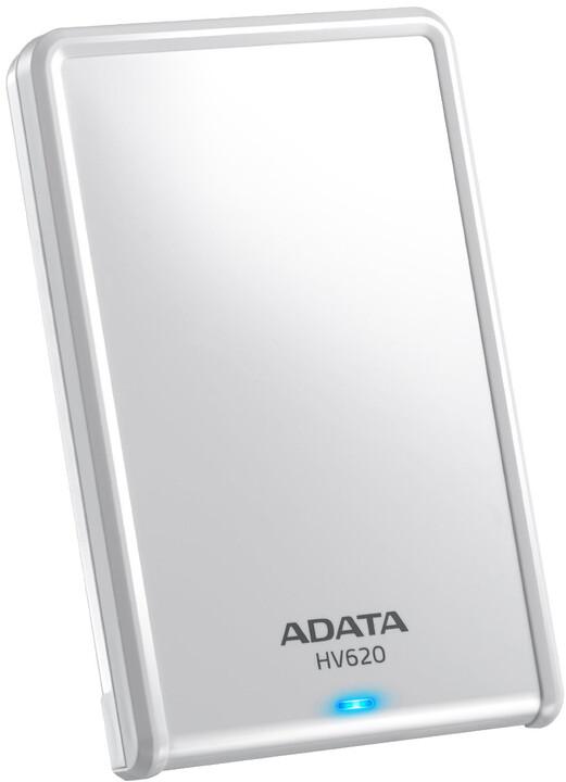 ADATA HV620 - 1TB, bílá