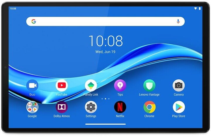 Tablet Lenovo TAB M10 Plus, 4GB/128GB, LTE, Iron Grey + Smart Charging Station