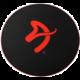 Arozzi Zona Floorpad, černá/červená