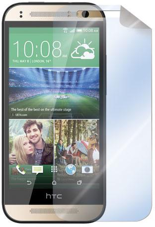 CELLY ochranná fólie displeje pro HTC One Mini 2, lesklá, 2ks