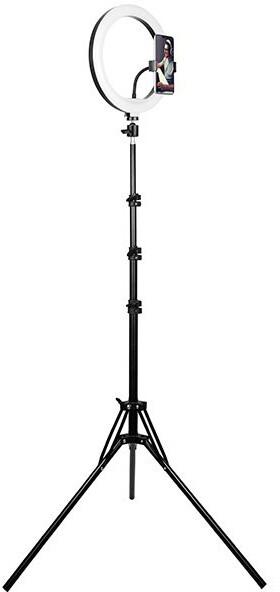 Tracer LED Ring Lamp, 210cm tripod