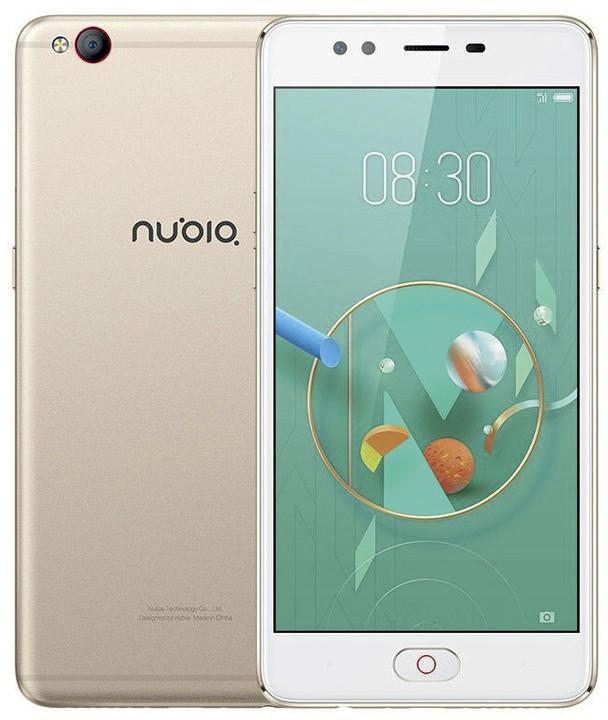 ZTE Nubia M2 Lite - 32GB, zlatá