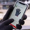 GEEK rukavice na dotykový displej L/XL