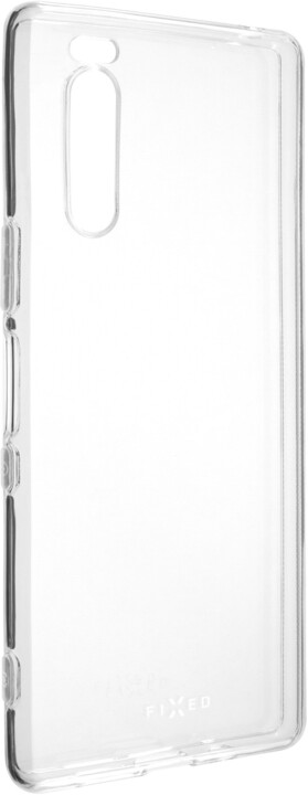 FIXED ultratenké TPU gelové pouzdro pro Sony Xperia 5, čiré