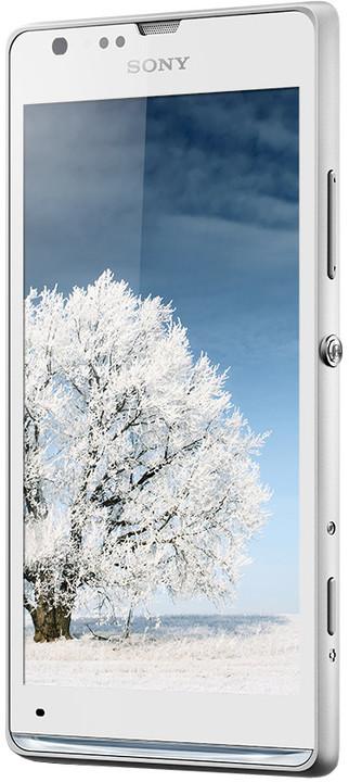 Sony Xperia SP, bílá