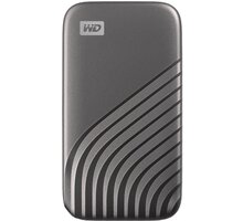 Western Digital My Passport - 500GB, šedá - WDBAGF5000AGY-WESN