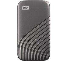 Western Digital My Passport - 1TB, šedá - WDBAGF0010BGY-WESN