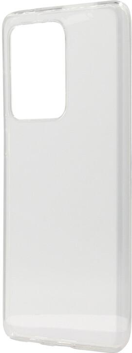EPICO plastový kryt RONNY GLOSS pro Samsung Galaxy S20 Ultra, bílá transparentní