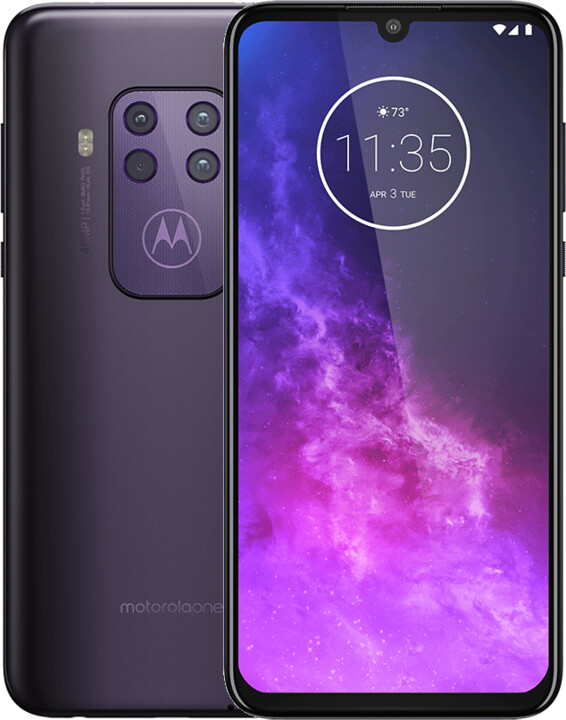 Motorola One Zoom, 4GB/128GB, Cosmic Purple