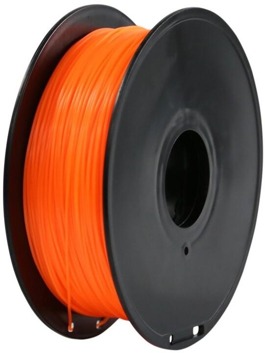 Creality tisková struna (filament), CR-PLA, 1,75mm, 1kg, fluorescenční oranžová