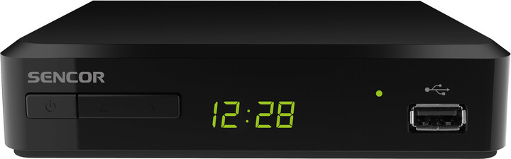 Sencor SDB 520T, DVB-T2, černá