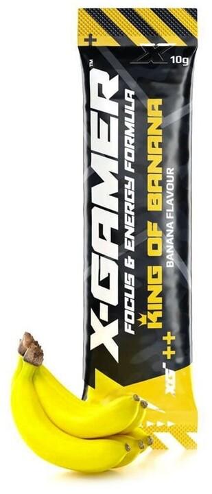 Doplněk stravy X-Gamer X-Shotz - King Of Banana, 10g