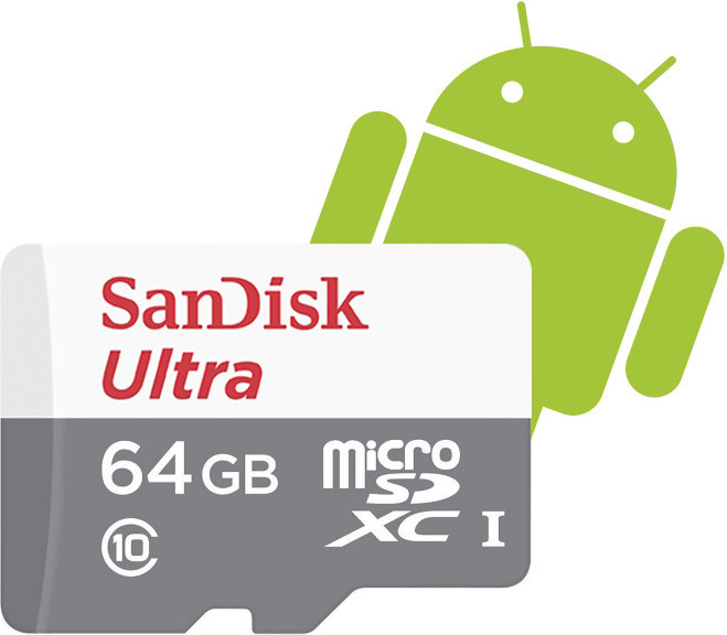 SanDisk Micro SDXC Ultra Android 64GB 80MB/s UHS-I