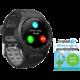 EVOLVEO SPORTWATCH M1S s podporou SIM, šedočerná  + Možnost vrácení nevhodného dárku až do půlky ledna