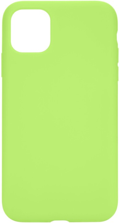 Tactical silikonový kryt Velvet Smoothie pro Apple iPhone 11 Pro, svítívě zelená