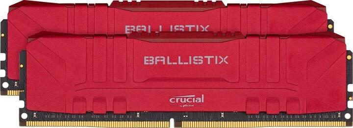 Crucial Ballistix Red 16GB (2x8GB) DDR4 3600