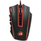 Defender Redragon Legend, černá/červená  + Podložka pod myš CZC G-Vision Dark, L (v ceně 250 Kč)