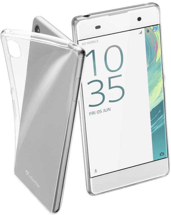 CellularLine Fine zadní kryt pro Sony Xperia Xa, bezbarvý