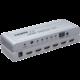 PremiumCord 4Kx2K@60Hz HDMI switch 5:1 kovový s dálkovým ovladačem a napájecím adaptérem