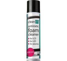 Clean IT antistatická čistící pěna na obrazovky 400ml CL-172