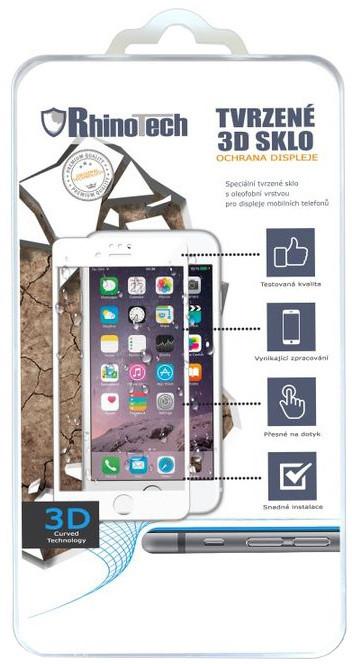 RhinoTech 2 Tvrzené ochranné 3D sklo pro Apple iPhone 6 Plus/6S Plus, černé