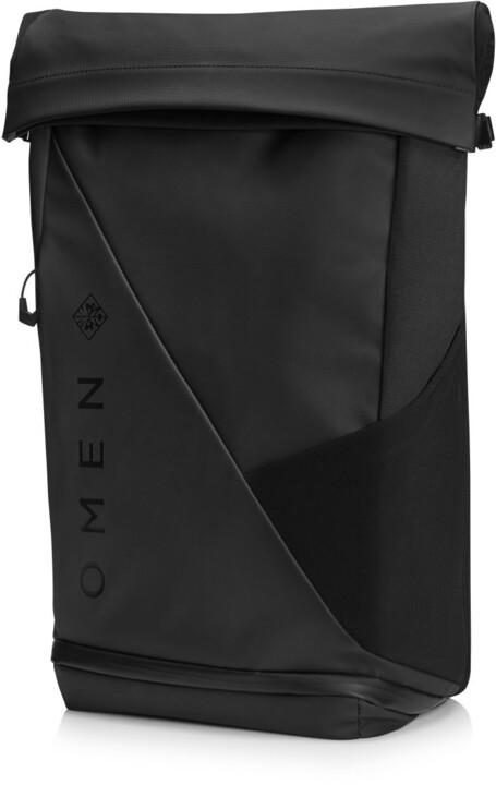 "HP OMEN batoh Transceptor 15"" Rolltop Backpack"