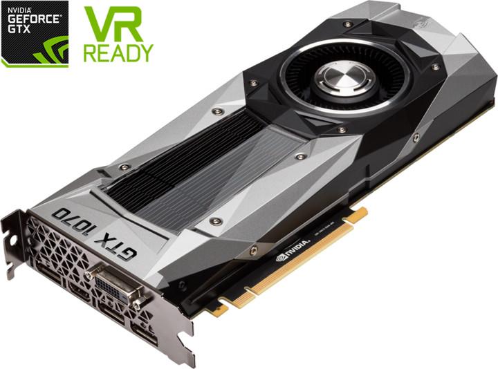 GIGABYTE GeForce GTX 1070 Founders Edition, 8GB GDDR5