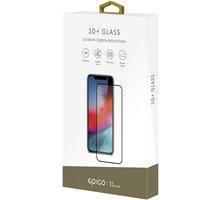 EPICO GLASS 3D+ tvrzené sklo pro iPhone XR, černé
