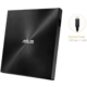ASUS SDRW-08U9M-U (USB Type-C/A), černá  + Bitdefender Internet Security, 1PC ,12 měsíců