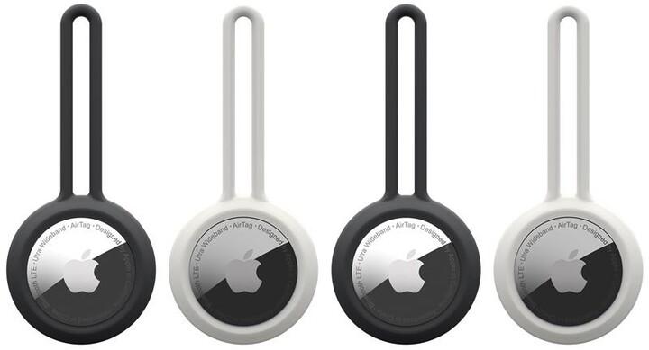 U by UAG poutko Dot na Apple AirTag, 4 ks, černá, bílá