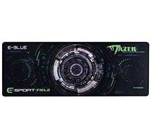 E-Blue Gaming XL, herní, látková, černo-zelená