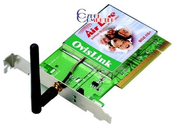 802 11 b wireless adapter driver ovislink wl 8000pci.