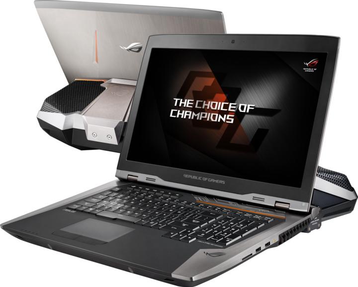 ASUS GX800VH(KBL)-GY004R, šedá