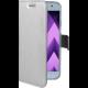 CELLY Air Pouzdro typu kniha pro Samsung Galaxy A5 (2017), PU kůže, stříbrné