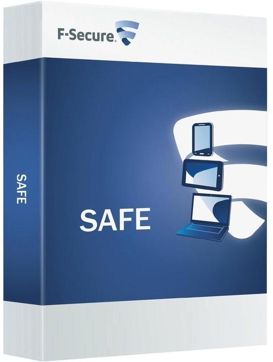 F-Secure Safe, 3 uživatelé (12 měs.) CZ
