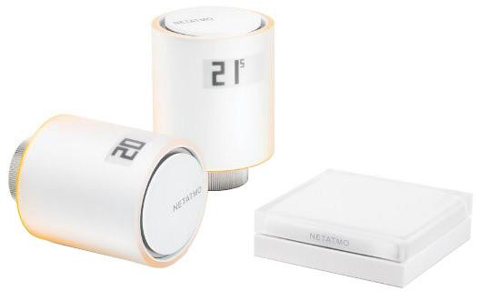 Netatmo Valves Start pack - 2x thermo hlavice a relé NVP-EN