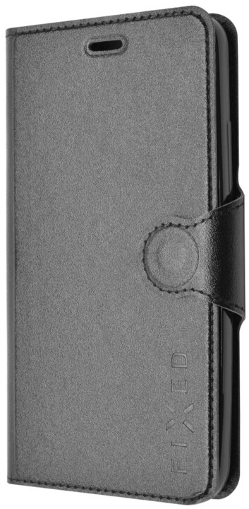 FIXED s gelovou vaničkou pouzdro pro Samsung Galaxy J5, černá
