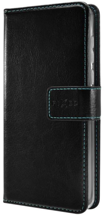 FIXED Opus pouzdro typu kniha pro Huawei Y6 II Compact, černé