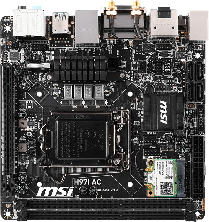 MSI H97I AC - Intel H97